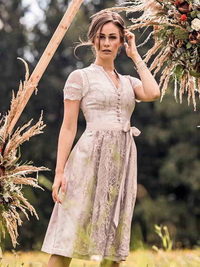 Hochzeitsdirndl Prinzessin 65 cm